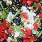 Blueberry Feta Pepita Salad | Weight Loss Surgery Recipes | FoodCoachMe