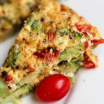 Broccoli Tomato Frittata | Weight Loss Surgery Recipes | FoodCoach.Me