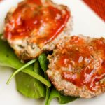 Blue Cheese Mini Meatloaf | Bariatric Surgery Recipes | FoodCoach.Me