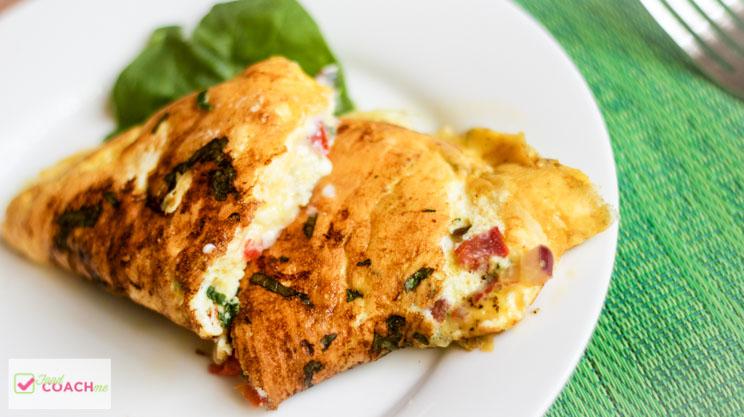 Greek Style Omelet – WLS Recipe