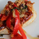 Walnut Chicken with Basil Skillet | Bariatric Surgery Recipes | FoodCoach.Me