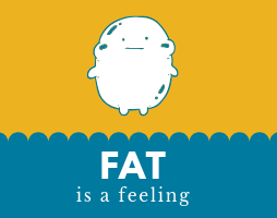 Blog image for the post Fat is a Feeling. Encouragement on the bariatric surgery weight loss journey