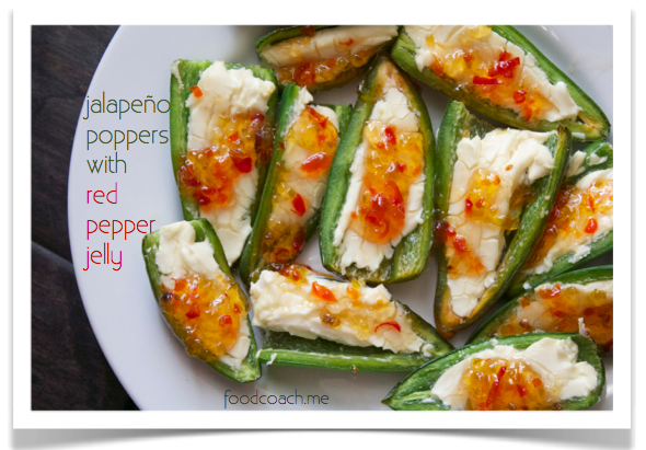Three Ingredient Appetizers: Jalapeño Poppers with Pepper Jelly