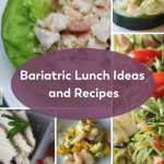 Pinterest image for bariatric lunch ideas and recipes