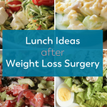 Pinterest image for weight loss surgery lunch ideas