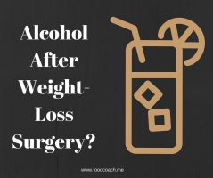 Alcohol After Weight Loss Surgery-