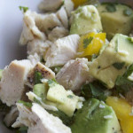 Chicken Salad with Avocado - low carb and weight loss surgery recipes