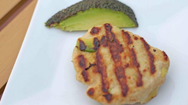 Chicken Avocado Burger | WLS Recipes | FoodCoach.Me