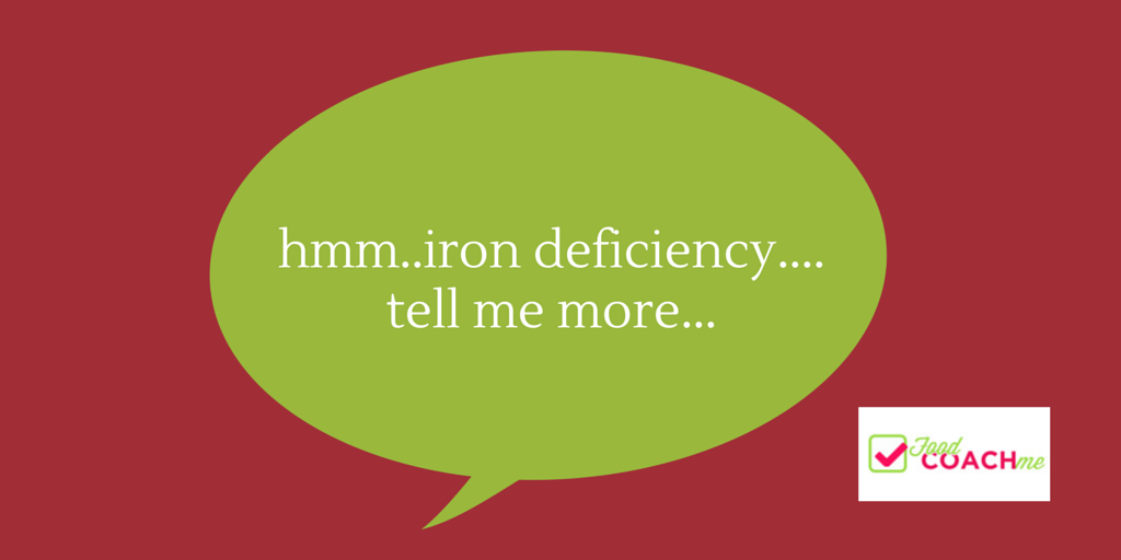 Iron Deficiency, Tell Me More // Bariatric Dietitian // Food Coach me
