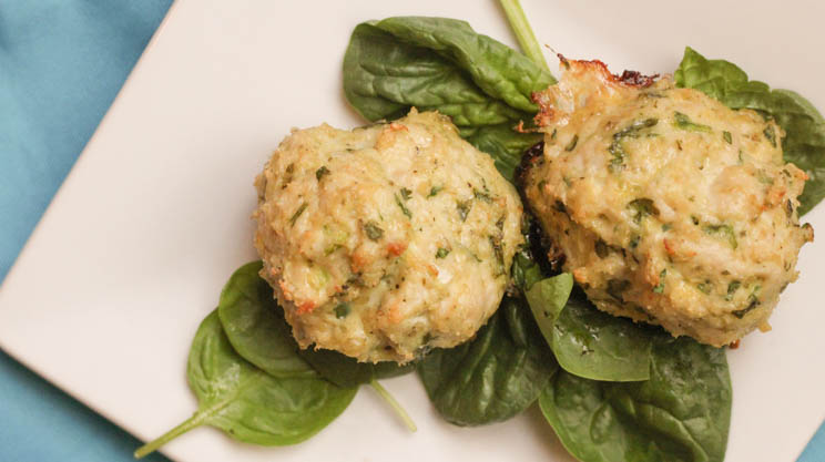 Turkey Spinach Meatball | Bariatric Surgery Recipes | FoodCoach.Me