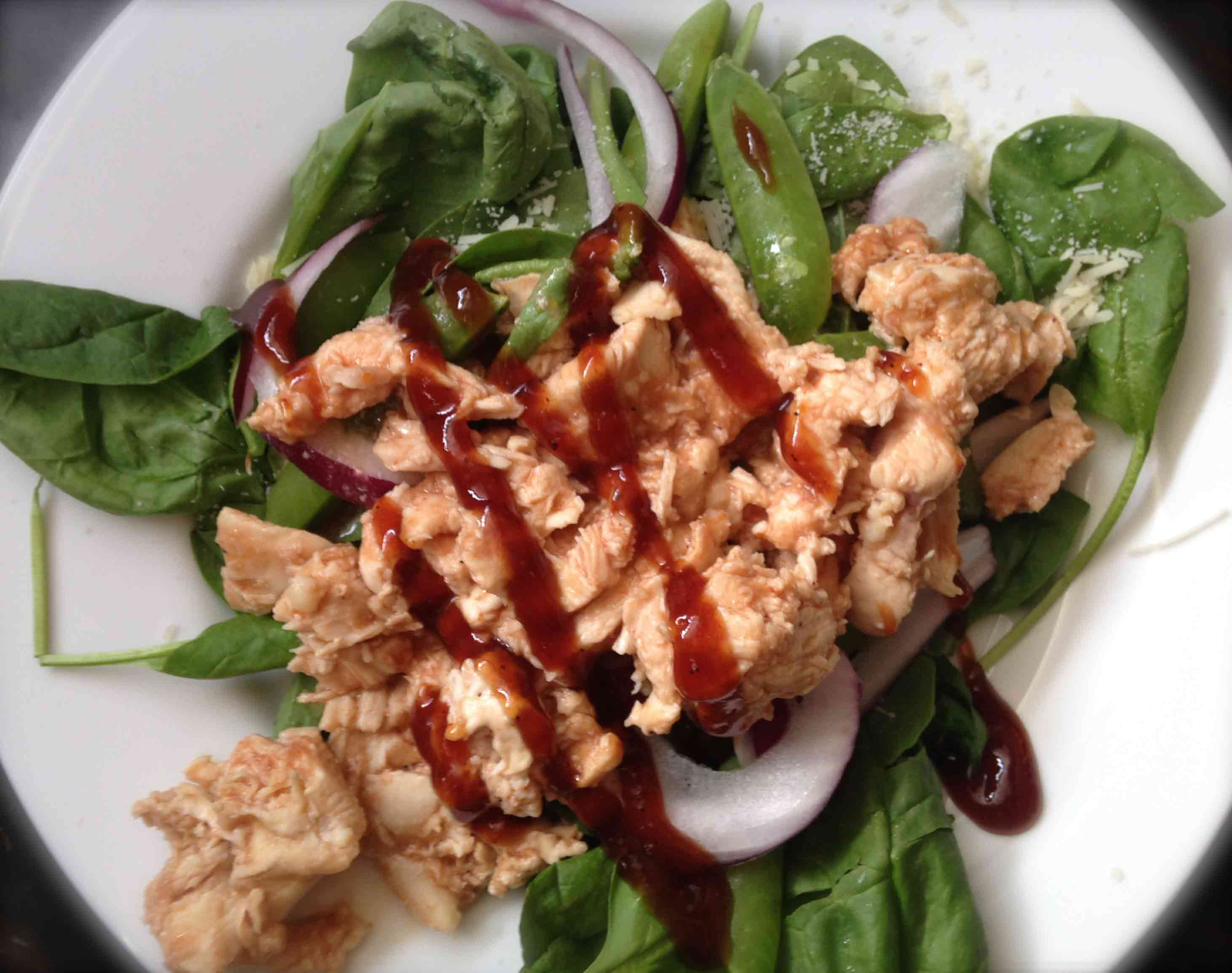 Barbecue Chicken Salad // Weight Loss Surgery Recipes // Food Coach Me