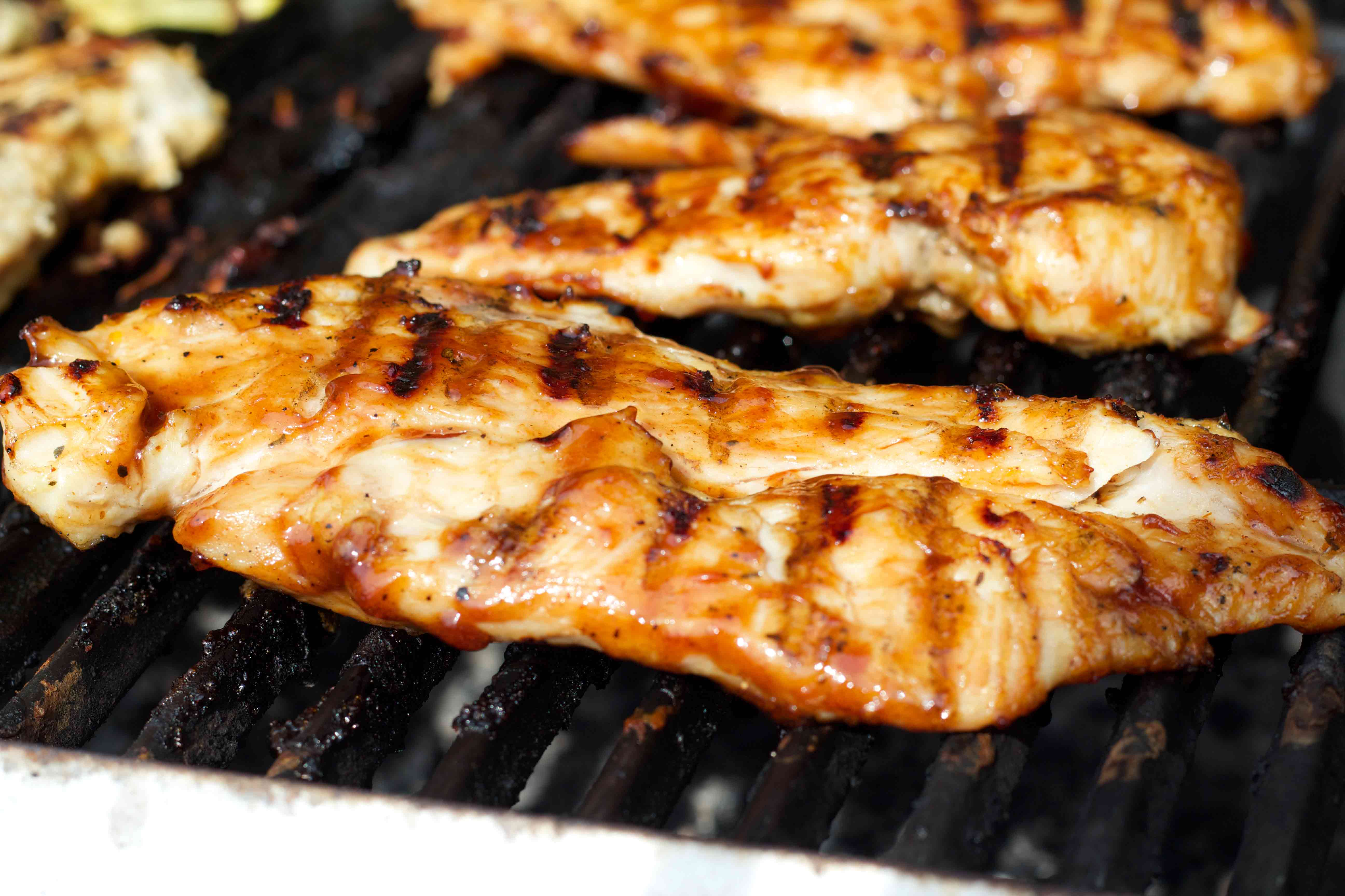 The best way to have barbecue chicken on the grill! Weight-loss surgery patients will love this.