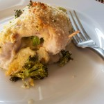 Broccoli and Cheese Stuffed Chicken. Low carb and weight loss surgery approved!