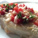 Bruschetta Baked Pork Chops // Food Coach Me