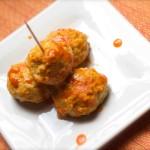 Bariatric Crockpot Recipe - Buffalo Chicken Meatballs