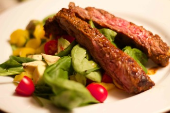 Carne Asada Steak Salad. Low carb recipe for Gastric Sleeve or Gastric Bypass patients.