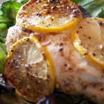 Garlic Lemon Chicken. Low carb weight loss surgery recipes at www.foodcoach.me
