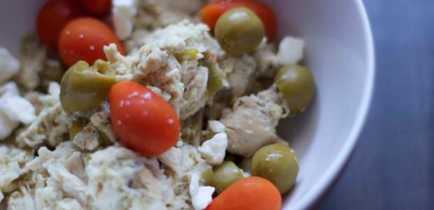 Greek Chicken Chili (no beans)