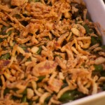 Reduced Fat Green Bean and Mushroom Casserole. Taste as good as the real thing!