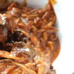 Honey Mustard Pork in the Crockpot®. Low carb and weight loss surgery friendly!
