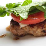 Italian Turkey Sausage Burger. So much flavor without the carbs and fat! Bariatric approved recipes at www.foodcoach.me