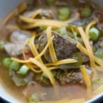 Pork and Tomatillo Chili - Bariatric approved recipes at www.foodcoach.me