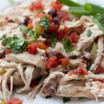 Santa Fe Pulled Chicken. Weight loss surgery recipes at www.foodcoach.me