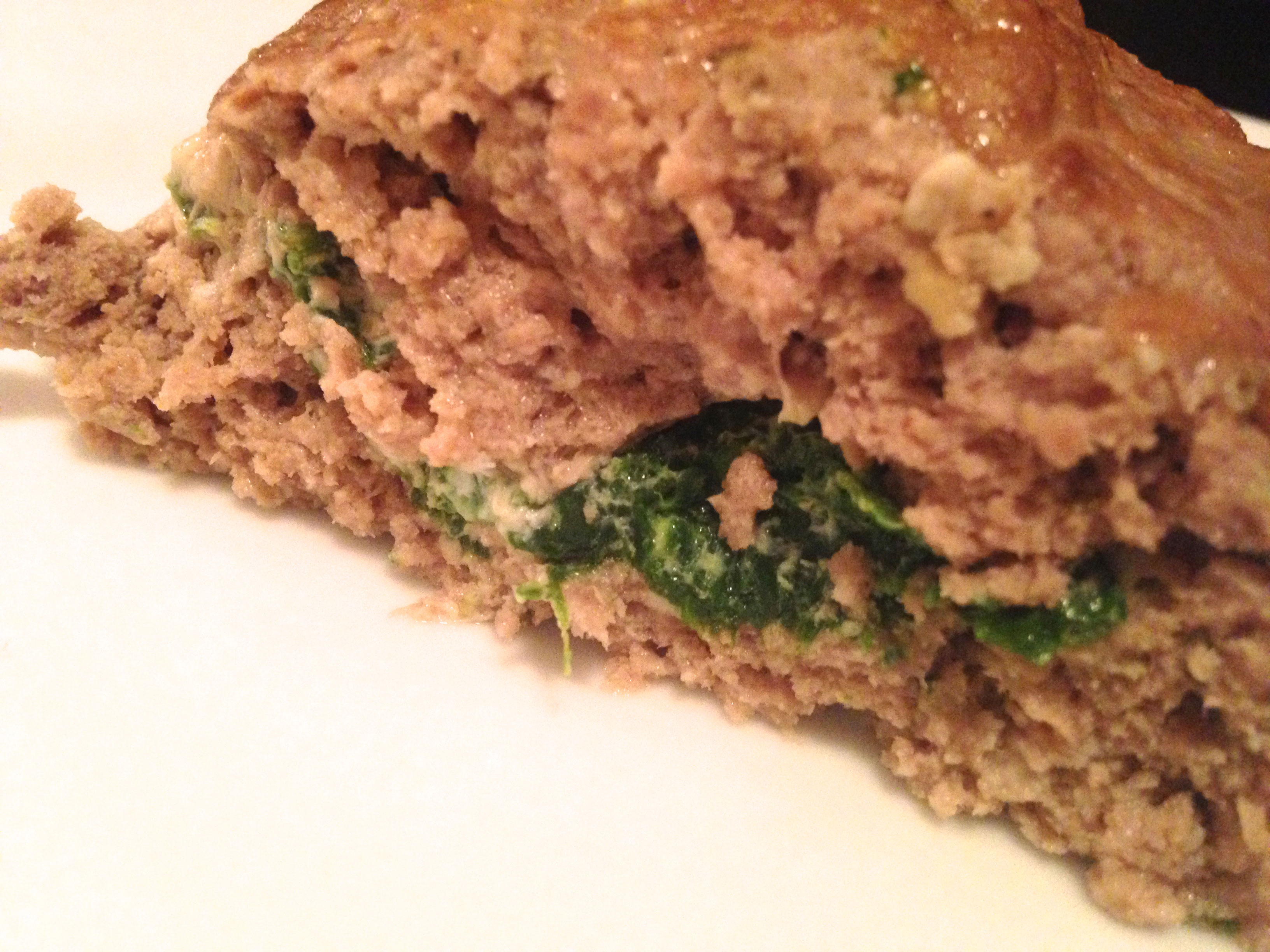 Stuffed Meatloaf With Spinach And Red Bell Pepper Recipes — Dishmaps
