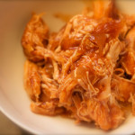 Crockpot Pulled Barbecue Chicken. Low carb and weight loss surgery friendly! #foodcoachme