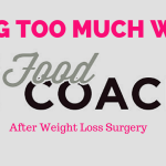 Worried about losing too much weight after weight loss surgery? If you've had bariatric surgery including Gastric Sleeve and Gastric Bypass, watch this video on how to lose the right amount of weight. #foodcoachme #bariatricliving #vsg #rny