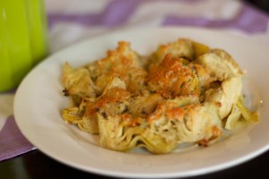 Roasted Parmesan Artichokes - Bariatric Friendly Appetizer!