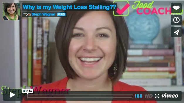 Weight Stalls After Gastric Sleeve and Gastric Bypass Surgery. Video from Steph Wagner, www.foodcoach.me