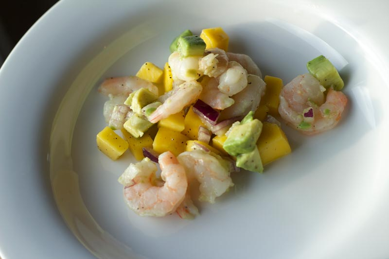 Tropical Shrimp Ceviche. Perfect lunch idea after Gastric Sleeve or Bypass!