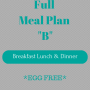 Full Meal Plan B