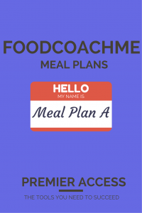 Meal Plan A