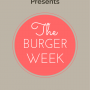 Weekly Dinner Menu - Burger Week