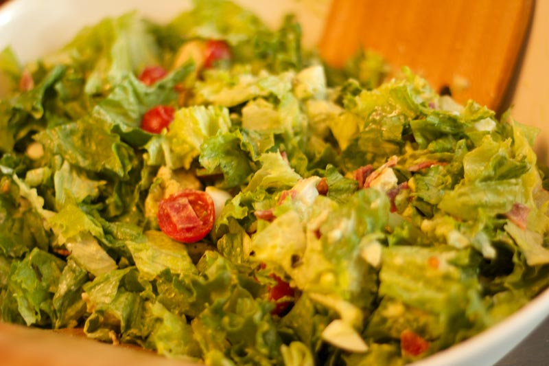 Yummy Salad for Pre and Postop VSG and RNY patients. California Cobb Salad