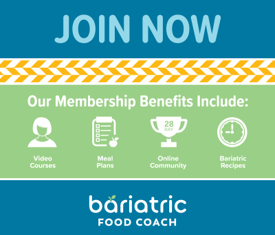 bariatric food coach membership benefits