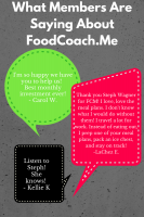 Reviews for FoodCoach.Me Membership-