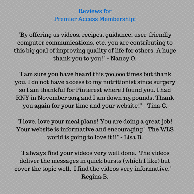 Reviews for FoodCoachMe Premier Access Membership