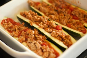 Zucchini Pizza Boats - Low Carb and WLS Friendly Recipe