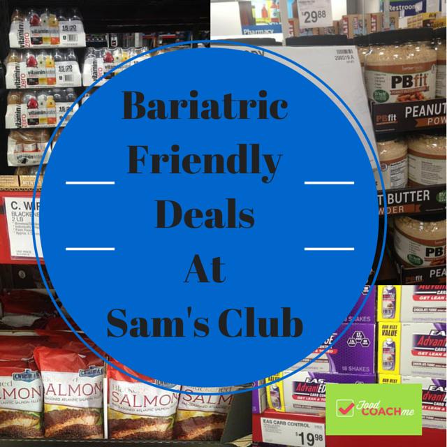 Sam's Club Bariatric Friendly Deals
