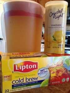 Weight Loss Surgery Drinks - Sugar Free Arnold Palmer