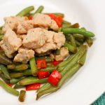 Chinese Pork and Green Beans | WLS Recipes | FoodCoach.Me