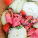 Cucumber Tomato Salad | Gastric Sleeve Recipes | Cooking Video | FoodCoach.Me