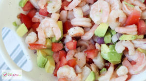 Mexican Shrimp Salad | Bariatric Recipes Video | FoodCoach.Me