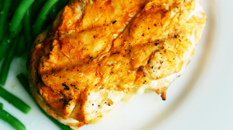 Gastric Sleeve/Gastric Bypass Recipe for Grilled Buffalo Chicken on www.foodcoach.me