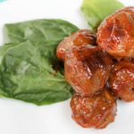 BBQ Mustard Meatball | Bariatric Surgery Recipes | FoodCoach.Me