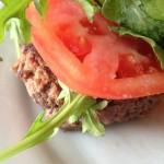 Bariatric Recipe - Steak Sauce Burger