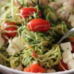 "Caprese ""Pasta"" Bowl - WLS Recipes"